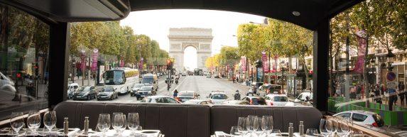 Avenue des Champs Elysées à Paris