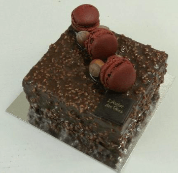 Gâteau ROCHER - L'atelier de Paris - Selection Bustronome