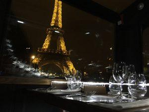 Diner Hiver Tour Eiffel à Paris